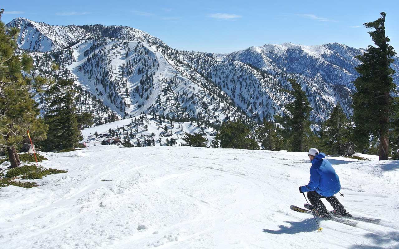 Skiing at Mt Baldy Resort Image