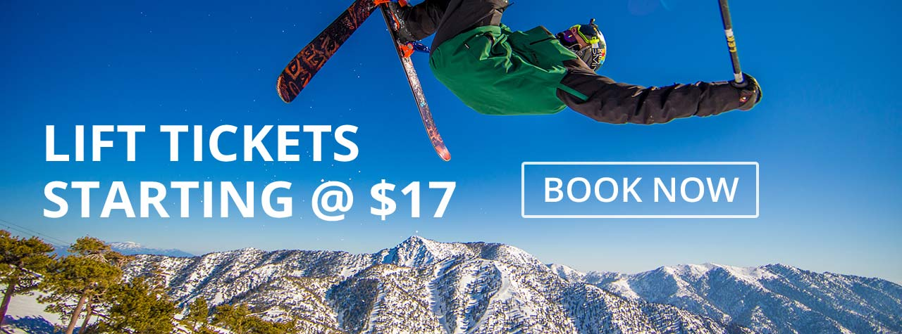 Mt Baldy Lift Ticket Information