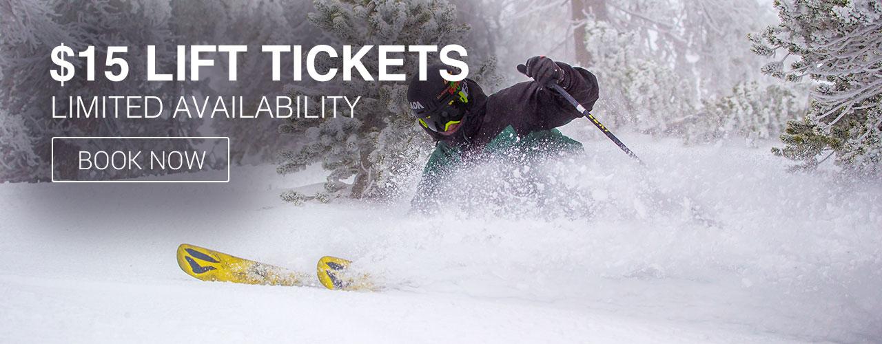Mt Baldy Lift Ticket Information