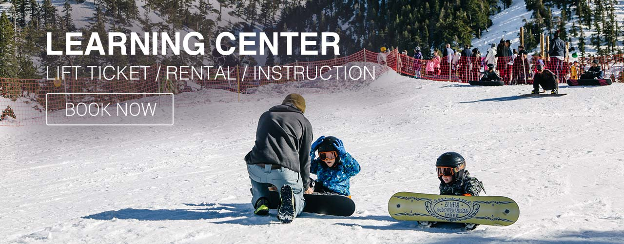 Skiing and Snowboarding Lessons Mt Baldy Resort 2020